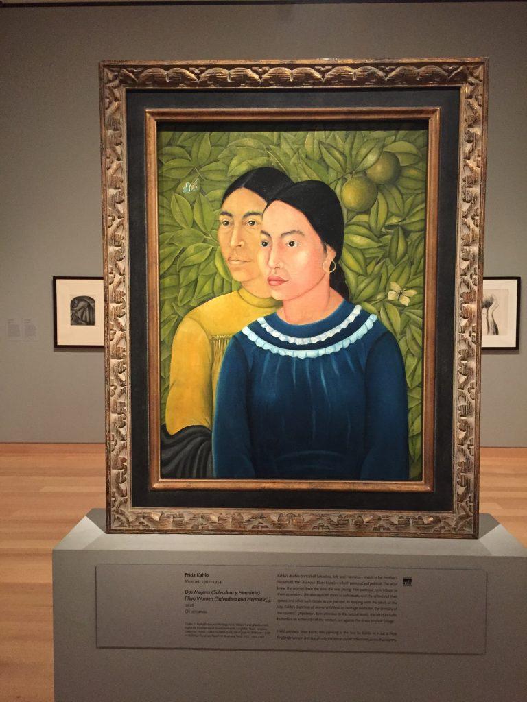 Frida Kahlo's Dos Mujeres